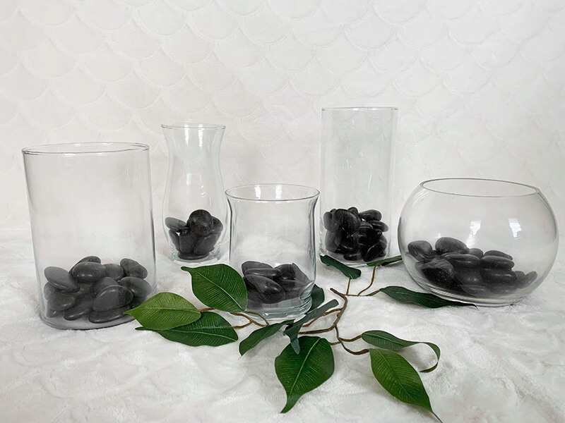 Assorted Glass Vases