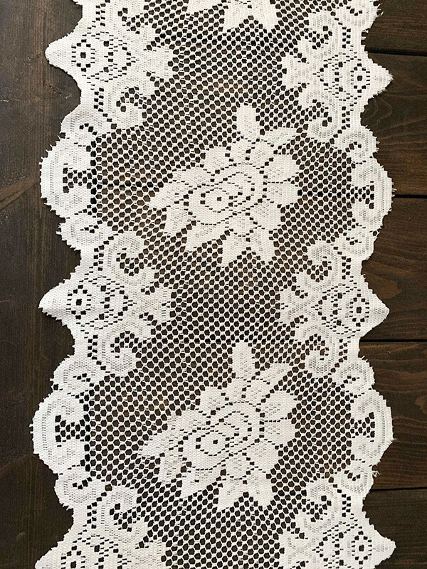 White Lace Table Runners