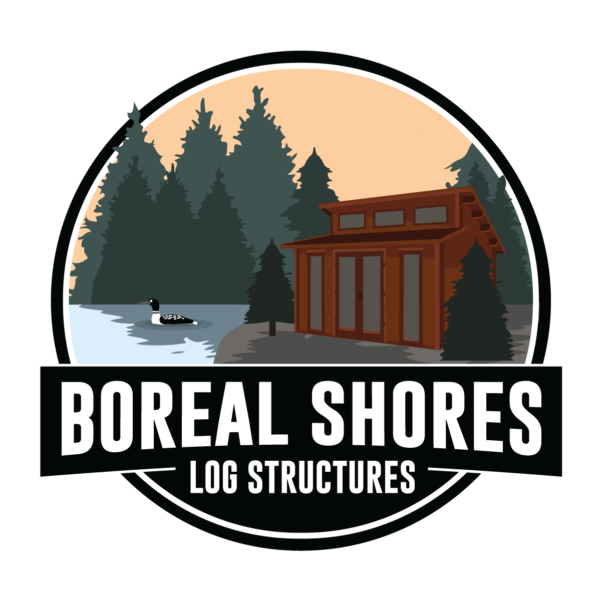 Boreal Shores Log Structures